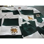 Rhodesia Traditional Green and White Rugby