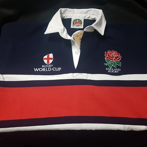 England world cup rugby jersey