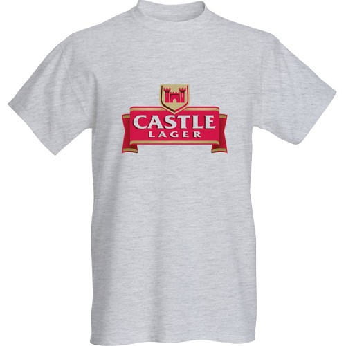 Castle  lager shirt select long or short sleeve.