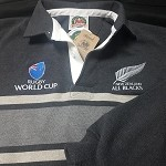 New Zealand All Blacks world cup rugby jersey