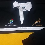 South Africa Springbok world cup rugby jersey
