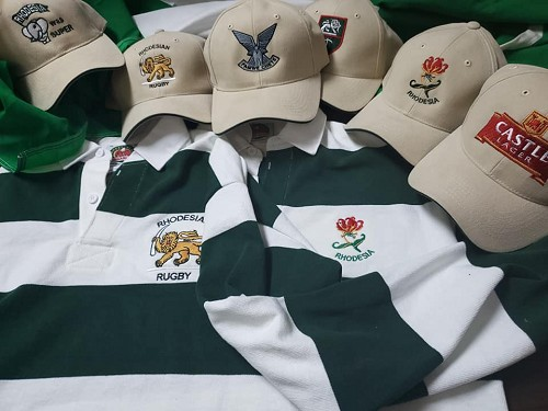 Traditional Green and White Rugby