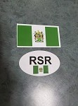 Rhodesian Bumper Stickers includes shipping